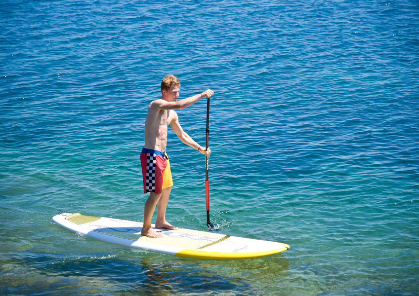 Rental of Standup Paddleboards