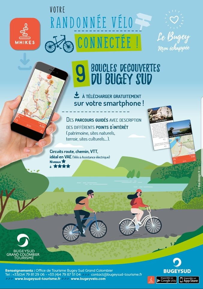 Mhikes - your cycling navigation guiding app